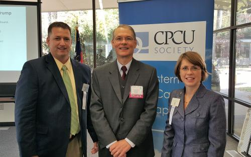 Lee Craig, NCSU Speaks at CPCU Meeting