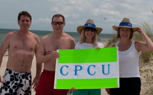 CPCU Members at the Beach