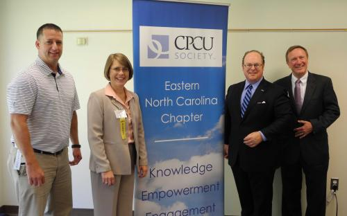 CPCU Chapter Leaders and Commissioner Wayne Goodwin