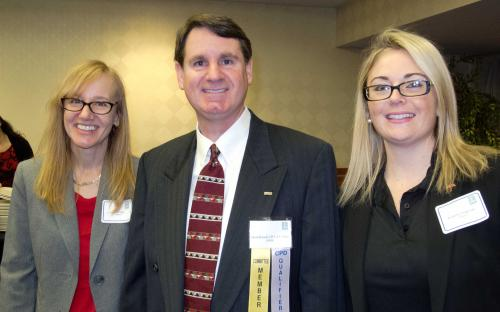 David Braswell with Travelers Sponsors