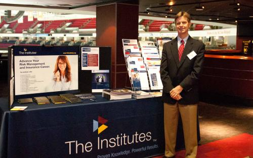 The Institutes Booth