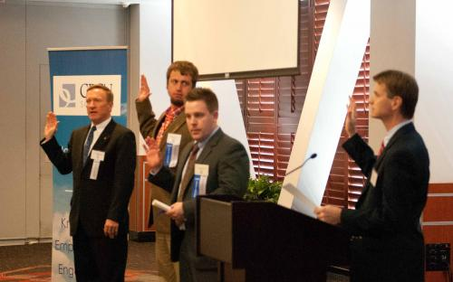 Eastern NC CPCU New Designees Oath