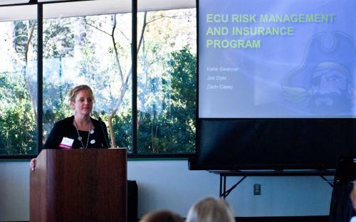 Brenda Wells ECU Risk Management