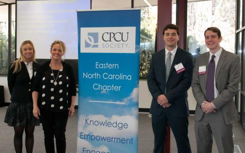 ECU Risk Management Program, Brenda Wells, Zach Casey, Joe Dyer, Katie Swanner
