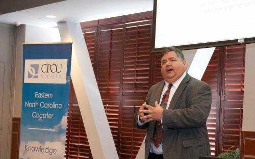 Speaker Andy Scurto, ISCS