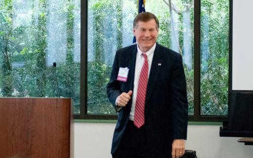 Mike Causey Speaks at CPCU Meeting