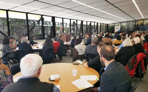 Ray Evans, CPCU speaking at Eastern NC CPCU
